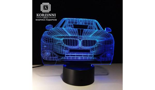 """3D светильник """"BMW"""""""