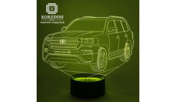 """3D светильник """"Toyota"""""""