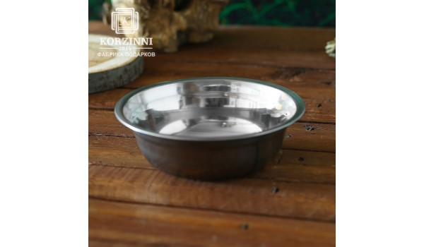 Тарелка металлическая