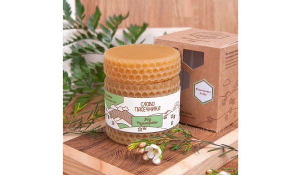 Мёд в воске стандарт-мини