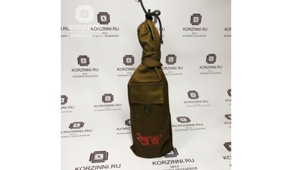 """Вещмешок для бутылки """"военный"""""""