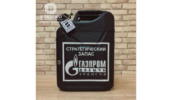 """Канистра-бар """"Газпром Добыча"""""""