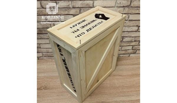 Ящик с ломом для канистра - бара