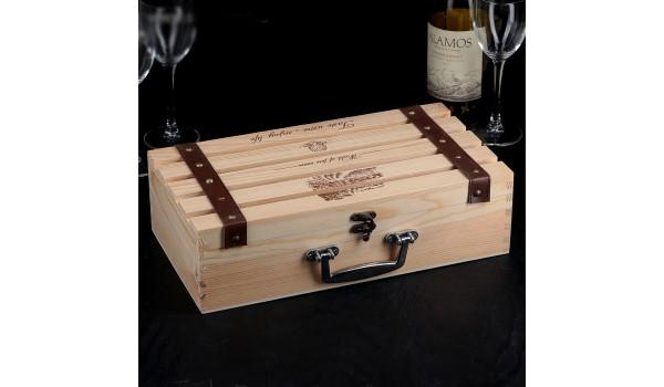 """Ящик для вина """"Феррара"""""""