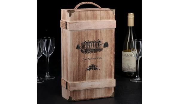 """Ящик для вина """"Ливорно"""""""