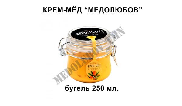 """Крем-мёд """"Medolubov"""" (бугель) 250 мл"""