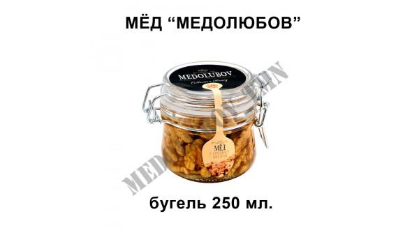 """Мёд """"Medolubov"""" (бугель) 250 мл"""